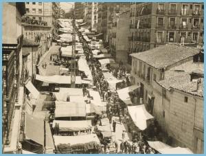 El Rastro de Madrid en 1929