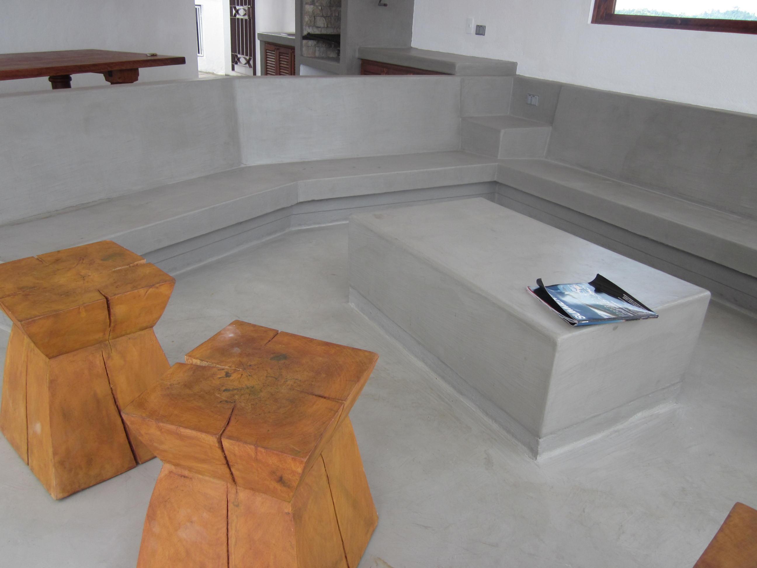 Superficie de microcemento todo al interior - Como poner microcemento ...